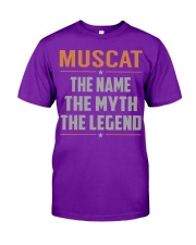 MUSCAT - Myth Legend Name Shirts Classic T-Shirt thumbnail