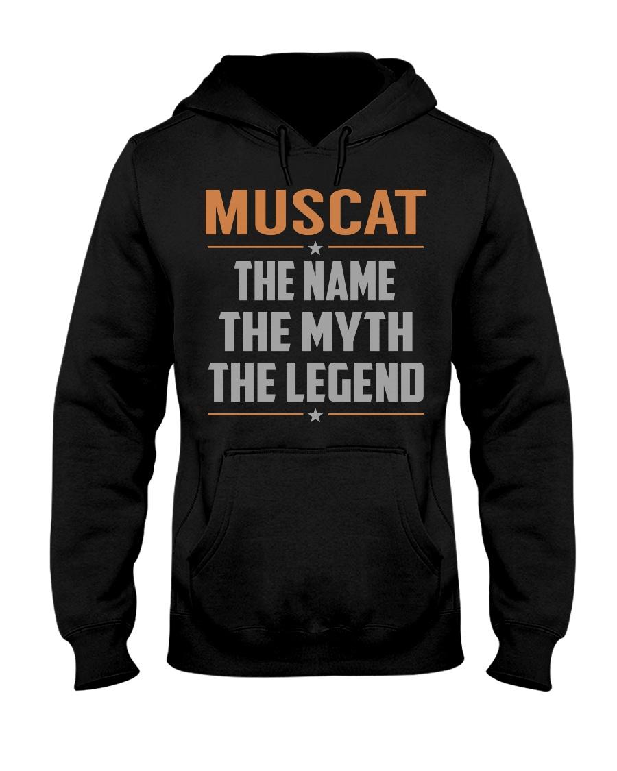 MUSCAT - Myth Legend Name Shirts Hooded Sweatshirt