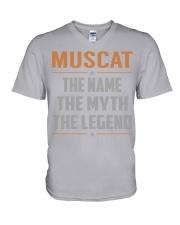 MUSCAT - Myth Legend Name Shirts V-Neck T-Shirt thumbnail