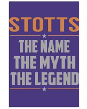 STOTTS - Myth Legend Name Shirts 11x17 Poster thumbnail