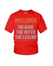 WIECZOREK - Myth Legend Name Shirts Youth T-Shirt tile