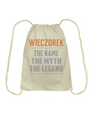 WIECZOREK - Myth Legend Name Shirts Drawstring Bag thumbnail
