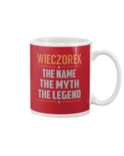 WIECZOREK - Myth Legend Name Shirts Mug thumbnail