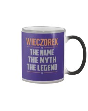WIECZOREK - Myth Legend Name Shirts Color Changing Mug tile