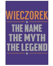 WIECZOREK - Myth Legend Name Shirts Vertical Poster tile
