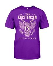 Team KRISTENSEN - Lifetime Member Classic T-Shirt thumbnail