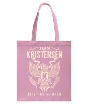 Team KRISTENSEN - Lifetime Member Tote Bag thumbnail