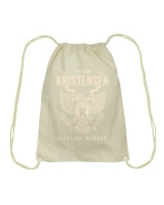 Team KRISTENSEN - Lifetime Member Drawstring Bag thumbnail