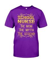 School Nurse - Mom Job Title Classic T-Shirt thumbnail