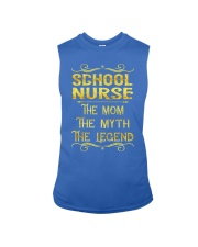 School Nurse - Mom Job Title Sleeveless Tee thumbnail