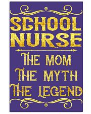 School Nurse - Mom Job Title 11x17 Poster thumbnail