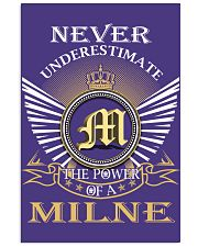 Never Underestimate MILNE - Name Shirts 11x17 Poster thumbnail