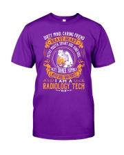 Radiology Tech - Brave Heart Job Title Classic T-Shirt thumbnail