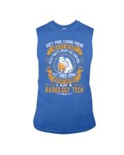Radiology Tech - Brave Heart Job Title Sleeveless Tee thumbnail