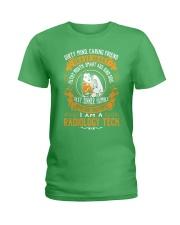 Radiology Tech - Brave Heart Job Title Ladies T-Shirt thumbnail