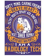 Radiology Tech - Brave Heart Job Title 11x17 Poster thumbnail