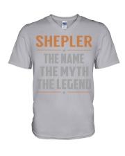 SHEPLER - Myth Legend Name Shirts V-Neck T-Shirt thumbnail