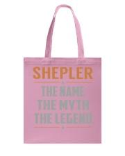 SHEPLER - Myth Legend Name Shirts Tote Bag thumbnail