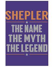 SHEPLER - Myth Legend Name Shirts 11x17 Poster thumbnail