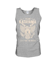 Team KATAYAMA - Lifetime Member Unisex Tank thumbnail