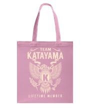 Team KATAYAMA - Lifetime Member Tote Bag thumbnail