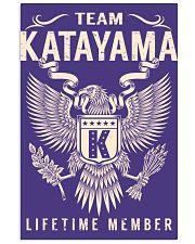 Team KATAYAMA - Lifetime Member 11x17 Poster thumbnail