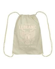 Team LEBLANC - Lifetime Member Drawstring Bag thumbnail
