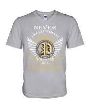 Never Underestimate PAWLIKOWSKI - Name Shirts V-Neck T-Shi