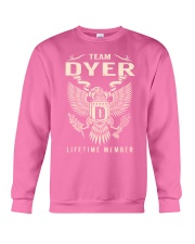 Team DYER - Lifetime Member Crewneck Sweatshirt thumbnail