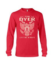 Team DYER - Lifetime Member Long Sleeve Tee thumbnail