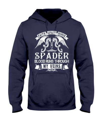 SPADER - Blood Name Shirts