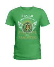 Never Underestimate PAWLOWSKI - Name Shirts Ladies T-Shirt thumbnail