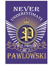 Never Underestimate PAWLOWSKI - Name Shirts Vertical Poster tile