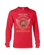 Never Underestimate MARGOLIS - Name Shirts Long Sleeve Tee thumbnail