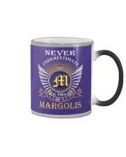 Never Underestimate MARGOLIS - Name Shirts Color Changing Mug thumbnail