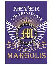 Never Underestimate MARGOLIS - Name Shirts 11x17 Poster thumbnail
