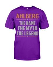 AHLBERG - Myth Legend Name Shirts Classic T-Shirt thumbnail