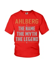AHLBERG - Myth Legend Name Shirts Youth T-Shirt thumbnail
