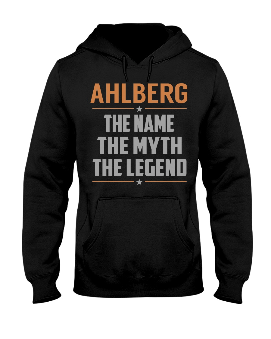 AHLBERG - Myth Legend Name Shirts Hooded Sweatshirt