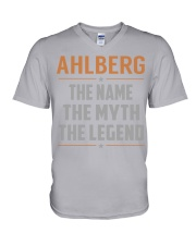 AHLBERG - Myth Legend Name Shirts V-Neck T-Shirt thumbnail