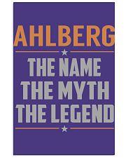 AHLBERG - Myth Legend Name Shirts 11x17 Poster thumbnail