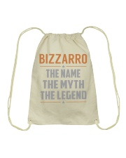 BIZZARRO - Myth Legend Name Shirts Drawstring Bag thumbnail