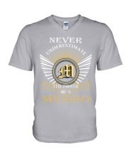 Never Underestimate MUSSO - Name Shirts V-Neck T-Shirt thumbnail