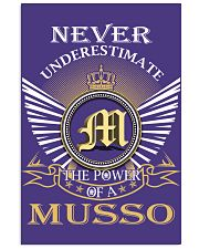 Never Underestimate MUSSO - Name Shirts 11x17 Poster thumbnail