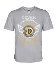 Never Underestimate OTTER - Name Shirts V-Neck T-Shirt thumbnail