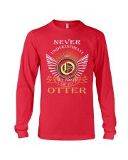 Never Underestimate OTTER - Name Shirts Long Sleeve Tee thumbnail