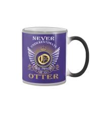 Never Underestimate OTTER - Name Shirts Color Changing Mug thumbnail