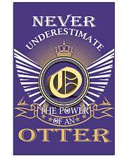 Never Underestimate OTTER - Name Shirts 11x17 Poster thumbnail