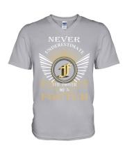 Never Underestimate FOUTCH - Name Shirts V-Neck T-Shirt thumbnail