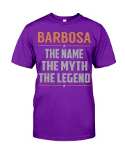 BARBOSA - Myth Legend Name Shirts Classic T-Shirt tile